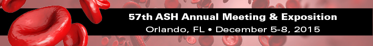 The 57th American Society of Hematology (ASH) Annual Meeting & Exposition