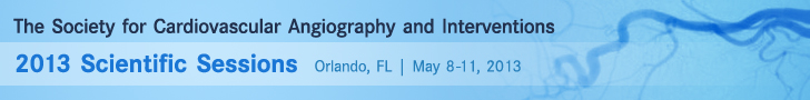 Society for Cardiovascular Angiography 2013