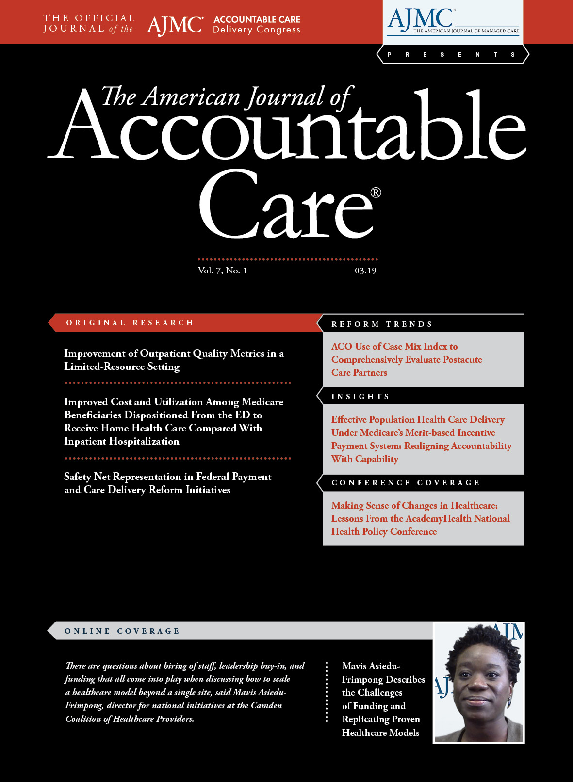 The American Journal of Accountable Care