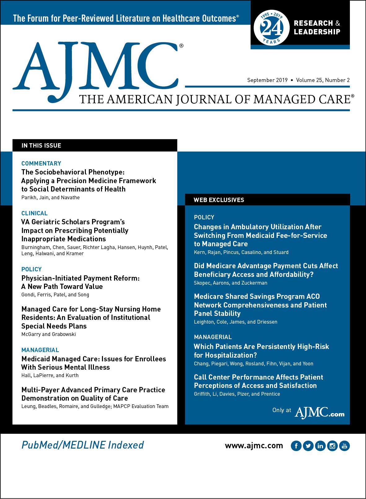 Editorial Board Members   AJMC