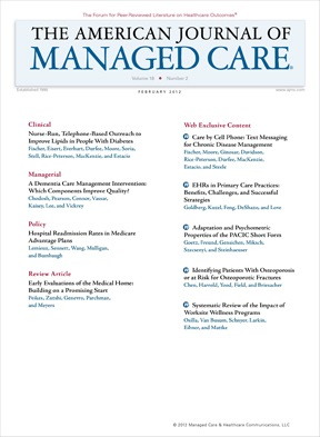 Special Issue: Health Information Technology - Guest Editors: Michael F. Furukawa, PhD; and Eric Poon, MD, MPH